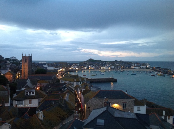 Dusk in St Ives